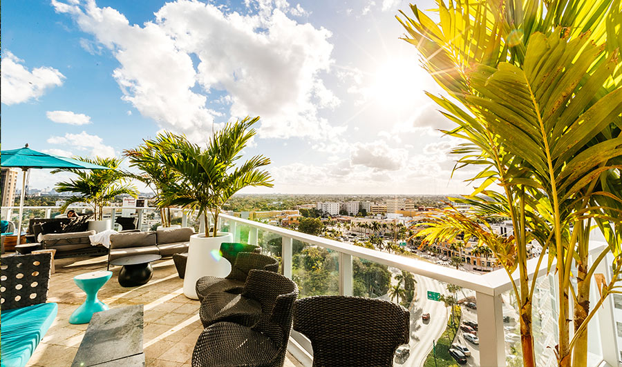 Circ Rooftop Bar: ideal für einen