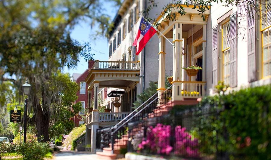 Südstaaten-Perle Savannah