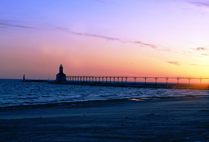 Eriesee: East Pierhead Lighthouse, Ohio