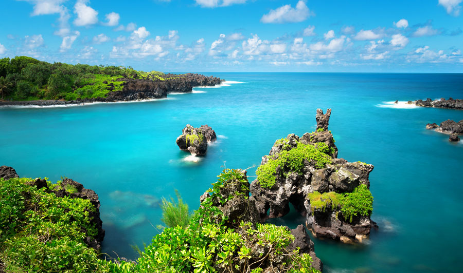Lagune von Maui
