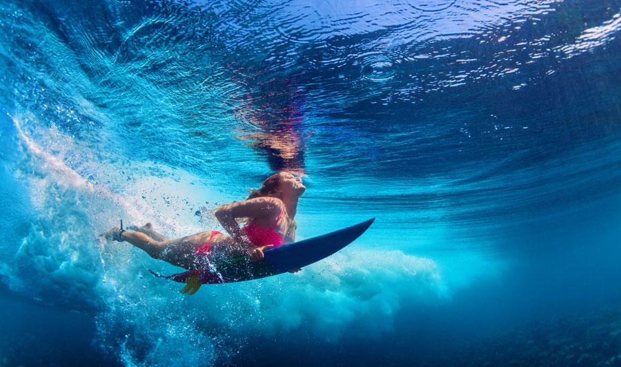 Surfvergnügen auf Maui