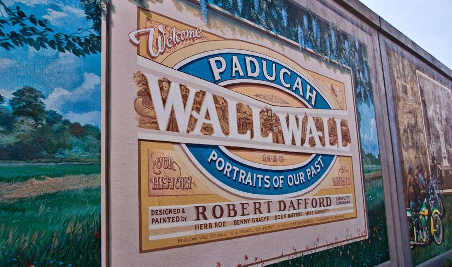 Murals in Paducah, KY