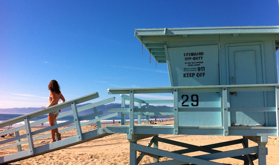 Lifeguard House, Malibu Beach