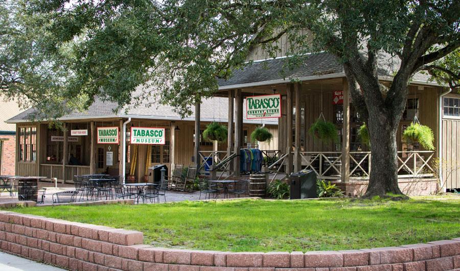 Lafayette, Louisiana | TABASCO, südlich von Lafayette