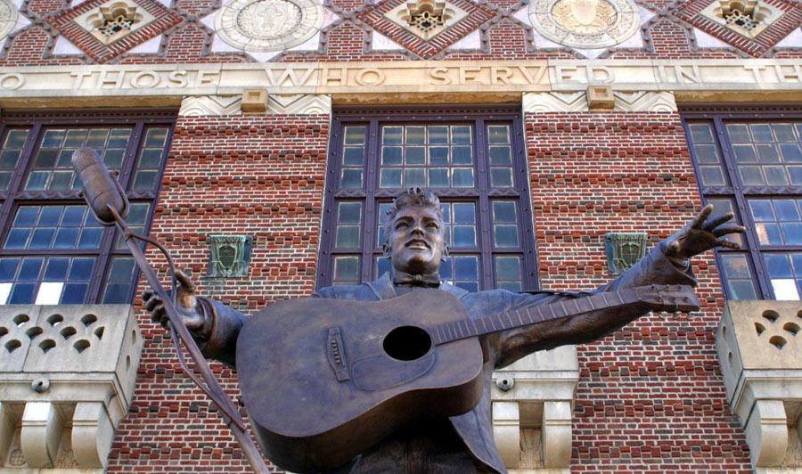 Shreveport/Minden, Louisiana | Elvis has left the Building: Auftritt in Shreveport, Louisiana