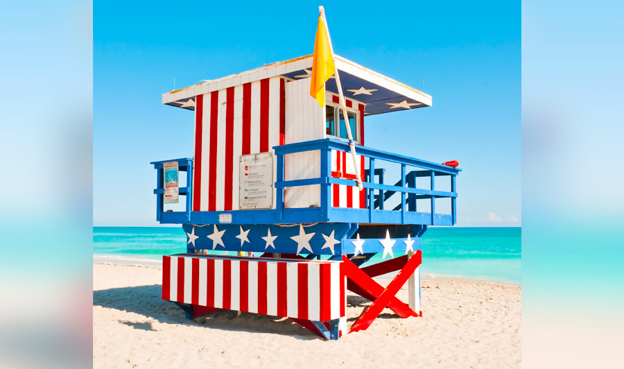 Lifeguard House, Miami Beach