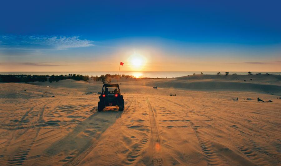 Silver Lake State Park  | Silver Lake Sand Dunes: großer Teil mit dem ATV befahrbar