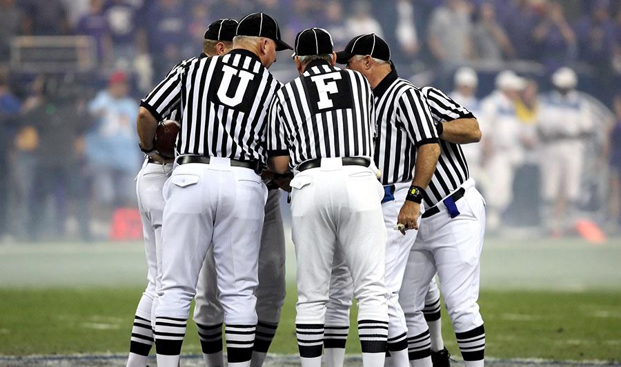 Schiedsrichter beim American Football