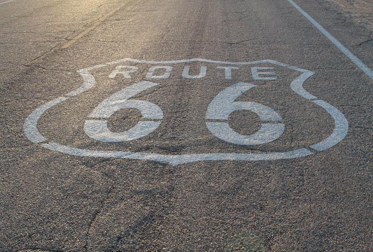 Kein Bundesstaat hat mehr Route 66 als Oklahoma!