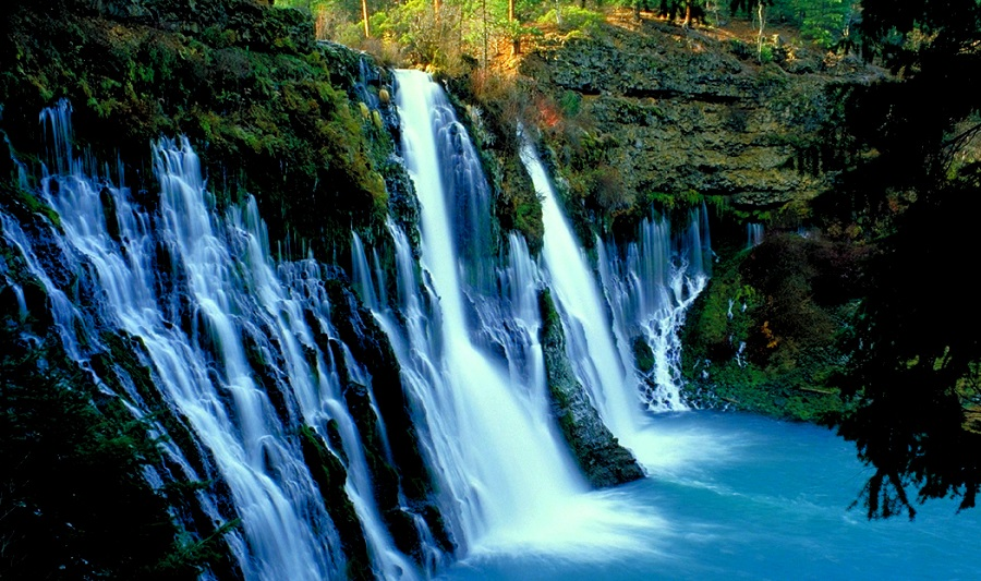 Burney Falls, nördlich von Redding