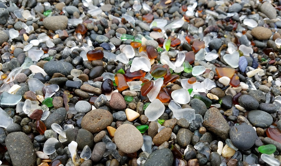 Glass Beach bei Fort Bragg