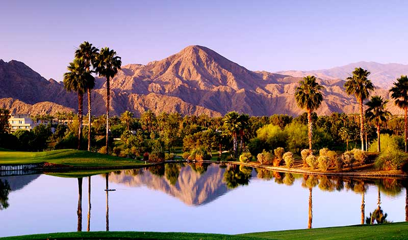 Malerische Berge: Indian Wells