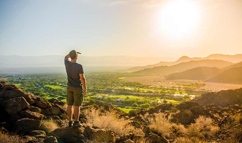 Blick in die Oase: Greater Palm Springs