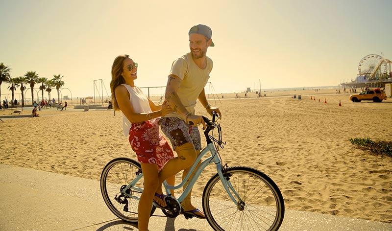 Santa Monicas South Bay Bike Trail