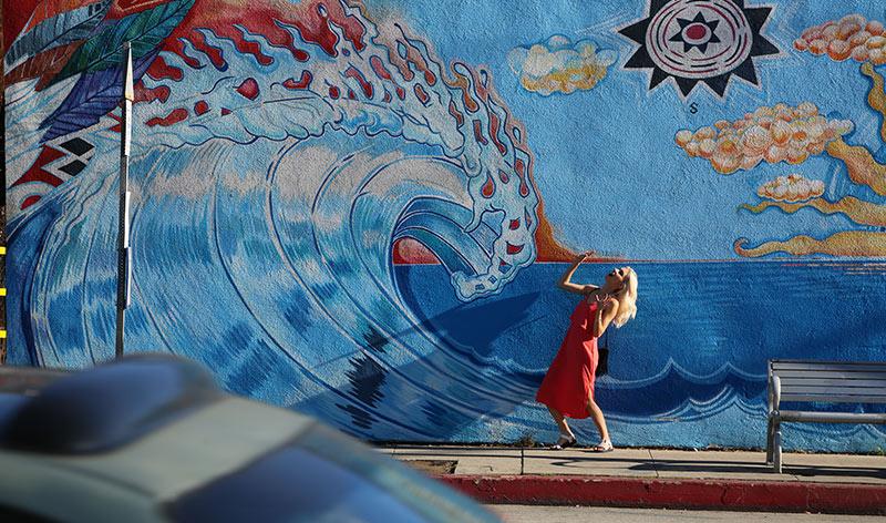 Wandgemälde in Santa Monica