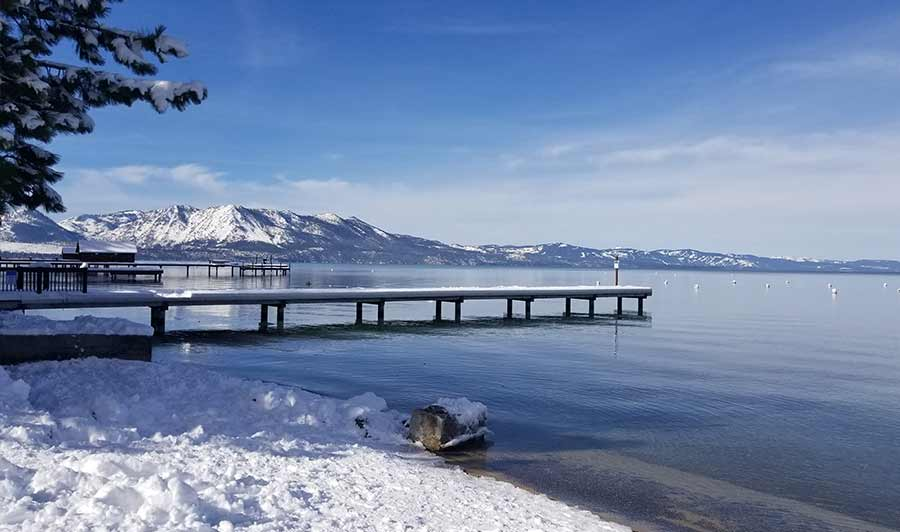 Winter in South Lake Tahoe