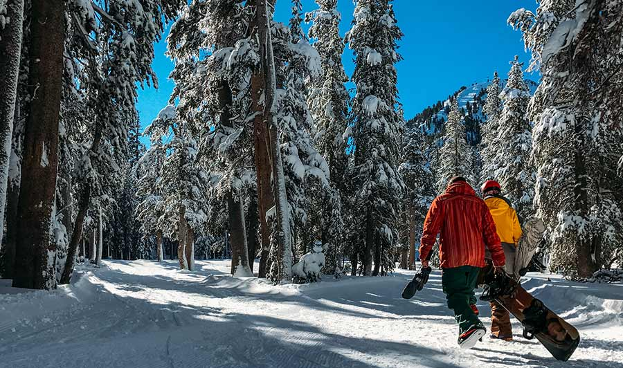 Wintersport in Mammoth Lakes