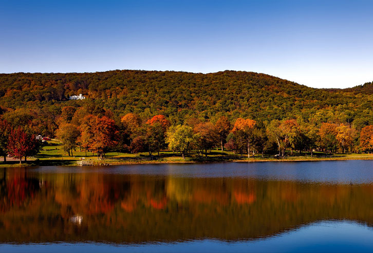 Indian Summer in Connecticut