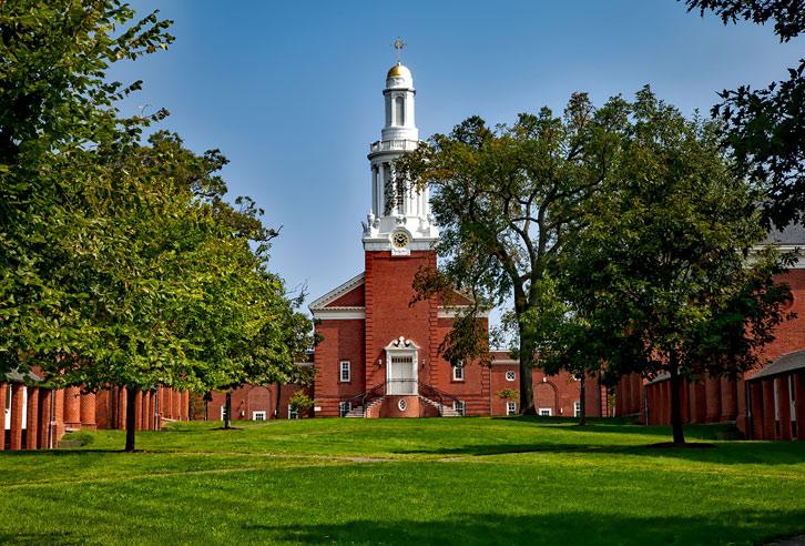 Berühmte Yale Universität in Connecticut