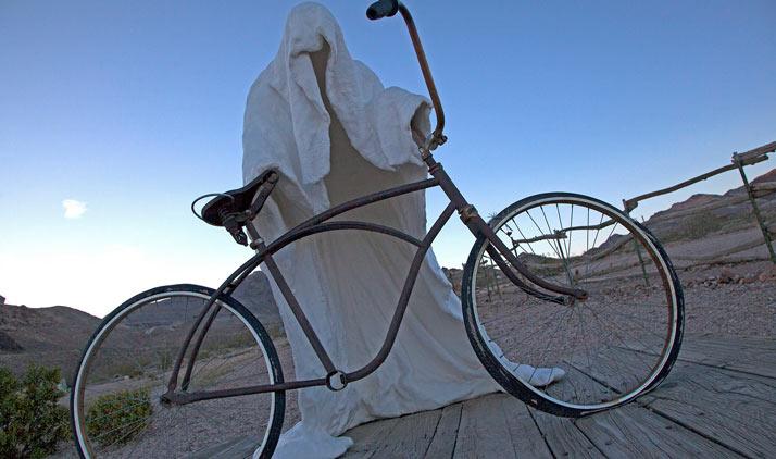 Wüstenkunst & Wilder Westen | Rhyolite Ghost Town