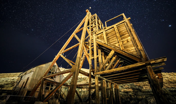 Alte Mine bei Tonopah