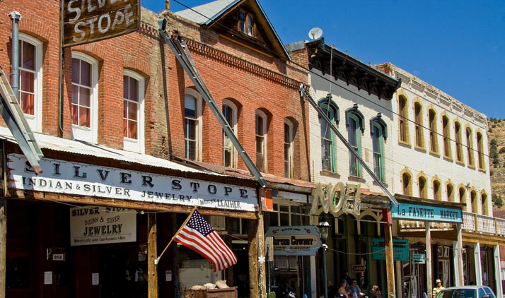 Virginia City und Reno | Virginia City