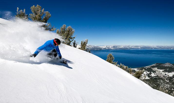 Skifahren amLake Tahoe
