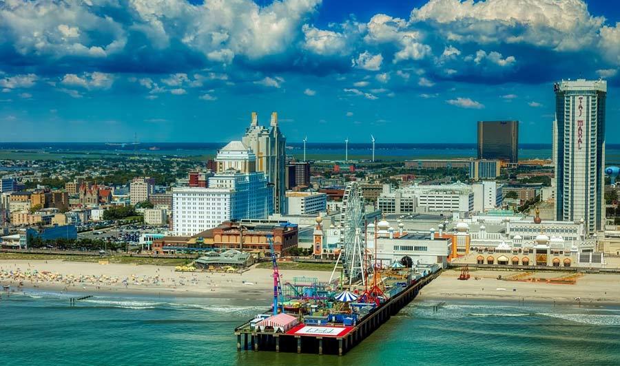 Antlantic Citys berühmter Pier