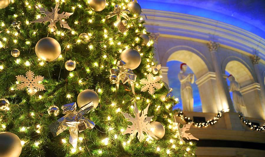 Weihnachtszeit in Atlantic City