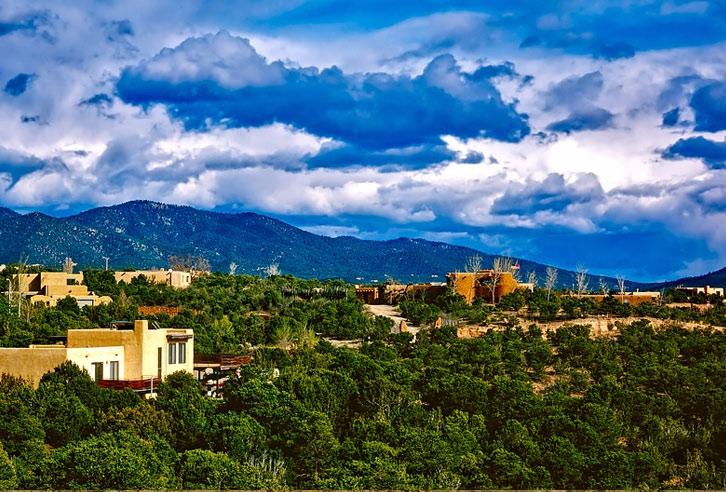 grünes Santa Fe