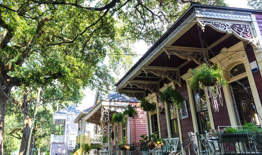 Verträumt-verspielte Architektur in New Orleans