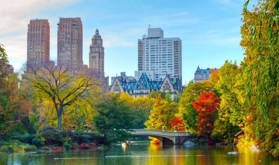 Central Park im Herbst