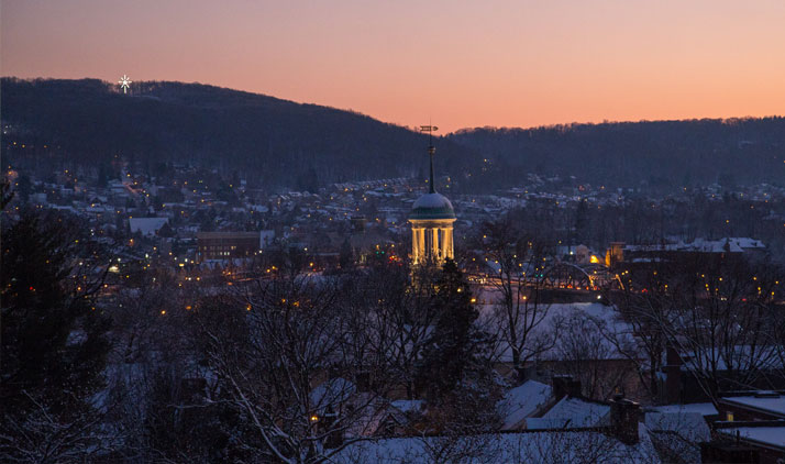 Bethlehem im Winter