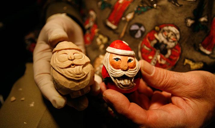 Handwerkskunst auf dem Weihnachtsmarkt in Bethlehem