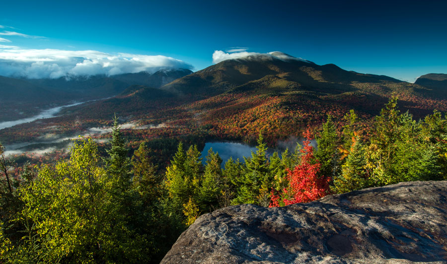 Adirondacks: Heart Lake und Algonquin Peak