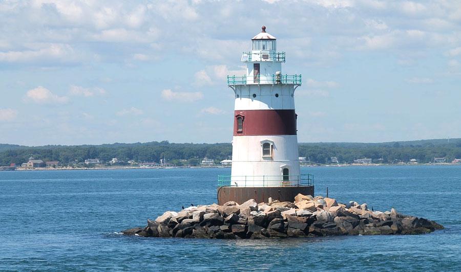 Leuchttürme am Long Island Sund