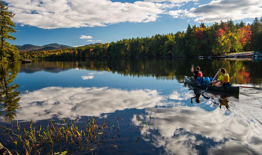 Adirondacks: Saranac-Seenkette