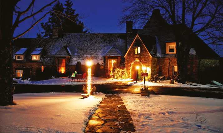 French Manor in den Pocono Mountains
