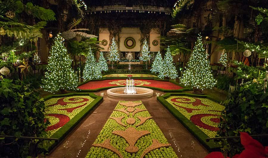 Wunderschön geschmückt: Longwood Gardens