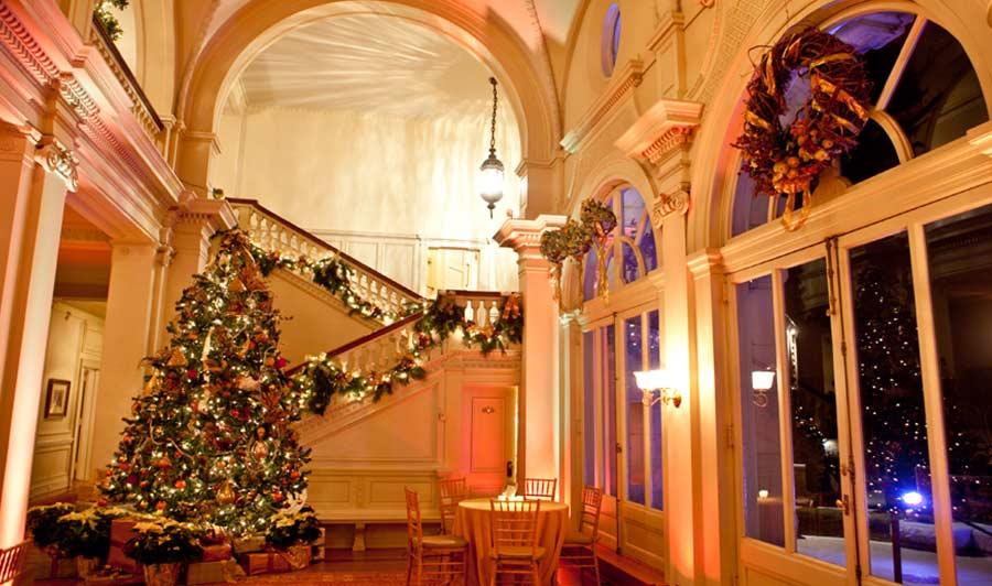Glencairn Museum zur Weihnachtszeit