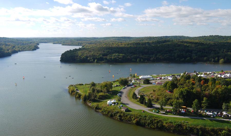 Lake Arthur bei Butler