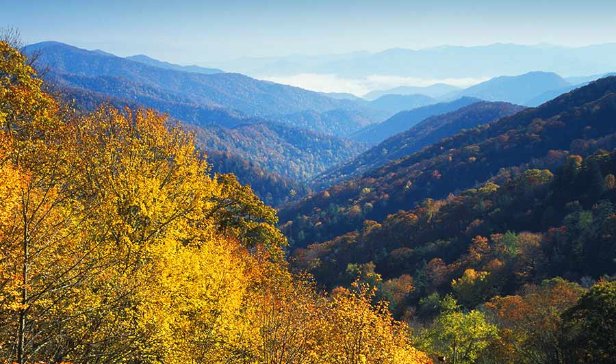 Newfound Gap, Smoky Mountains