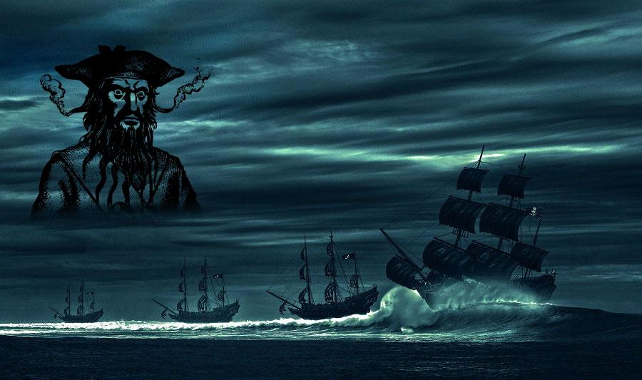 Pirat Blackbeard