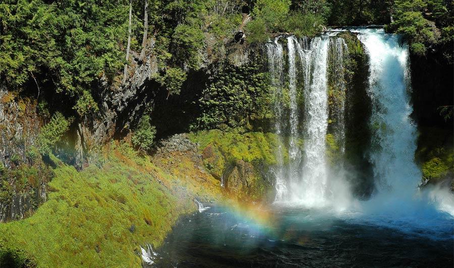 Koosah Falls, McKenzie Pass-Santian Pass Scenic Byway