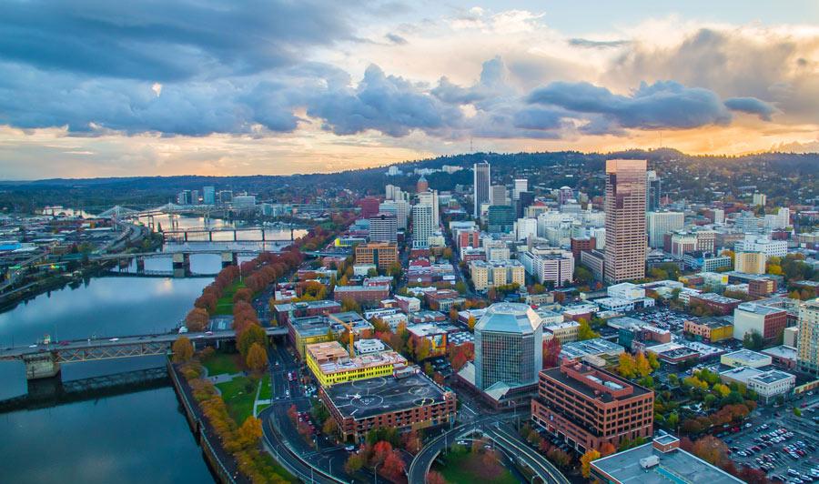 Portlands Skyline