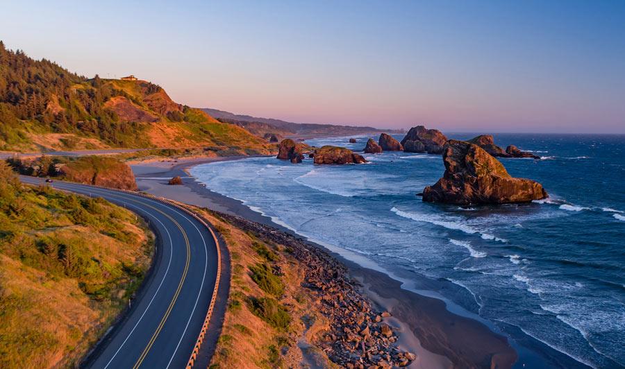 Raue Schönheit: der Pacific Coast Highway