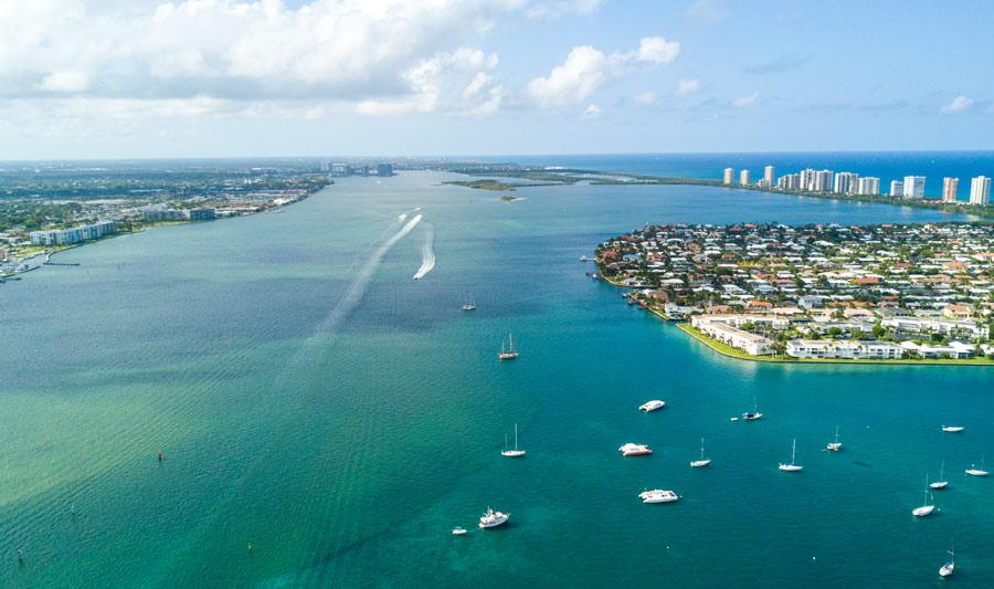 Palm Beach und Umgebung