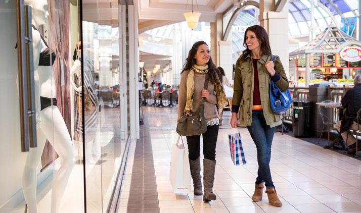 Größte Mall der Ostküste: King of Prussia Mall