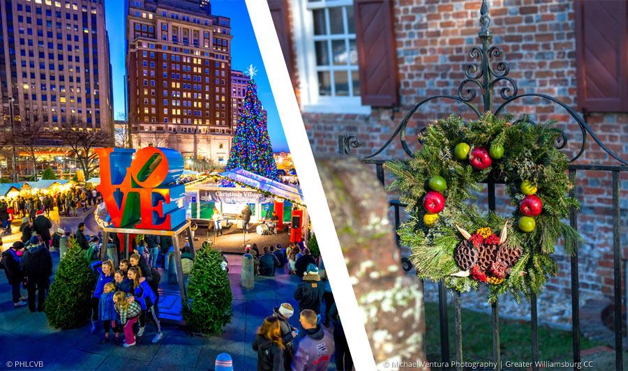 Weihnachtszauber zwischen New York und Virginia