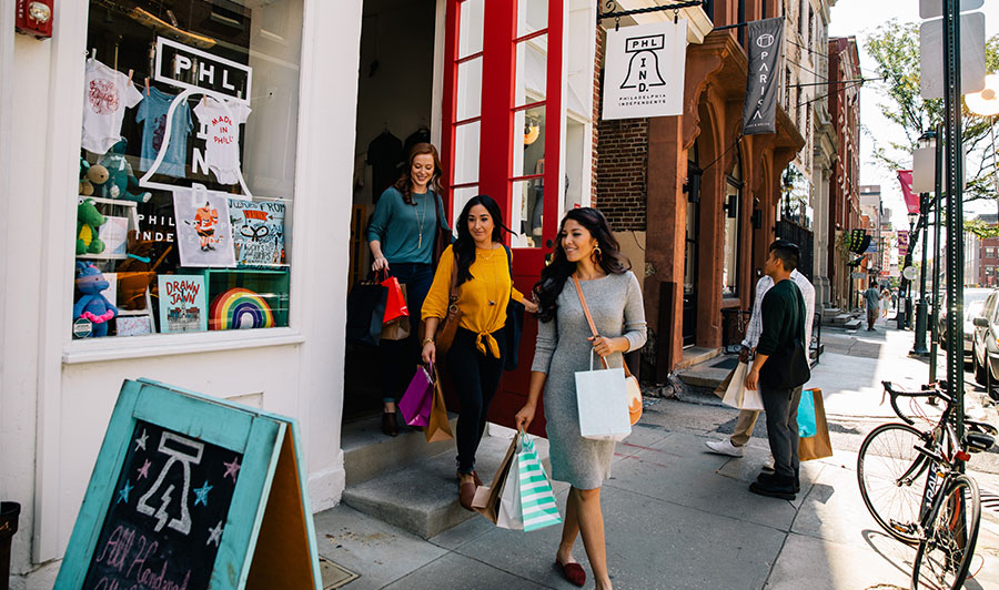 Steuerfreies Shopping in Philadelphia